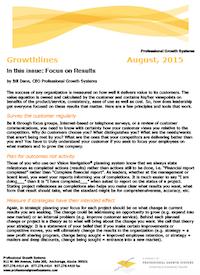 Growthlines, PGS August 2015 Newsletter